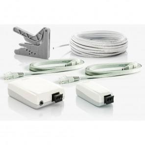 Fuba WebFiber Set 135 WLAN Lichtleiter-Adapter Set | 1x1110 + 1x1135 + 20m WFL200 + WFW100