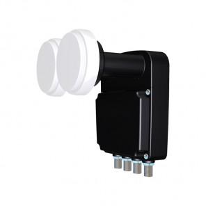 ASCI AMBQ 24 Quattro-Switch-Monoblock-LNB mit 4,3° Grad Abstand