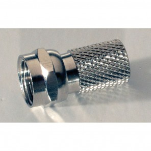 F0-7,2 - F-Stecker für Koaxialkabel mit 7,2mm Durchmesser, schraubbar