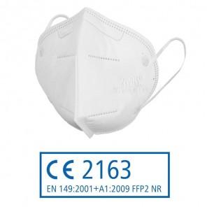 Siegmund FFP 2 Atemschutzmaske 3190 nach FFP2-Norm, Mundschutz   20 Stück (0,80€/Stück), gefaltet, FFP2-Maske