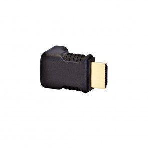 Black Connect HDMI-Winkeladapter 90°