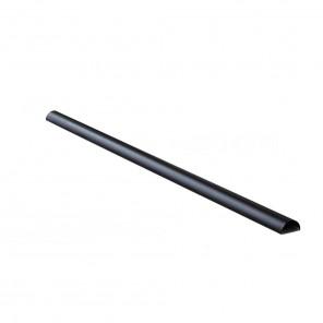 Black Connect Kabelkanal Aluminium | 75cm, schwarz
