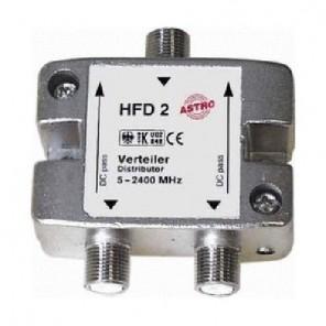 Astro HFD 2 2-fach F-Verteiler,5-2400 MHz