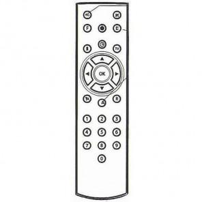 Kathrein 19900354 Original-Fernbedienung für UFE 235, UFE 335, UFE 336 und CCR 502 Receiver
