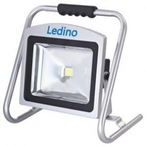 Ledino Köpenick 509 LED-Akkustrahler silber 50W 8,8 Ah   B-Ware