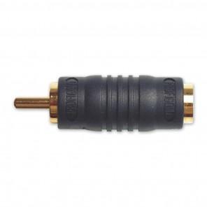 Profigold PGP 6501 Adapter S-VHS-Kupplung auf Cinch-Stecker | vergoldete Kontakte