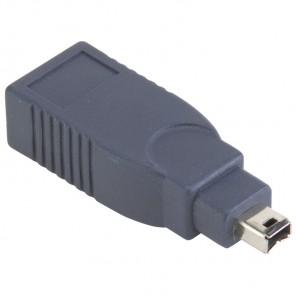 BANDRIDGE BCP 620 Adapter Firewire 6Pin Kupplung auf Firewire 4Pin Stecker