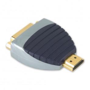 BANDRIDGE SVP 1101 (0,00m/Adapter) HDMI-A-Stecker auf DVI-D-Kupplung als Adapter