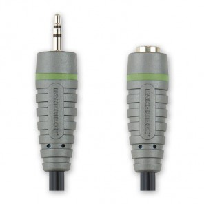 BANDRIDGE BAL 2700 (0,20 m) 2,5mm-Klinkenstecker-Stereo auf 3,5mm-Klinkenkupplung-Stereo in 0,20m Länge