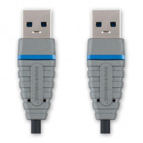 Bandridge BCL 5802 USB 3.0 SuperSpeed USB-Kabel 2,0 m vernickelte Kontakte USB A/A