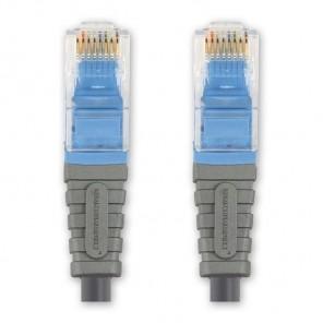 BANDRIDGE BCL 7000 Cat. 5 Netzwerkkabel blau RJ45-Stecker 0,5 m