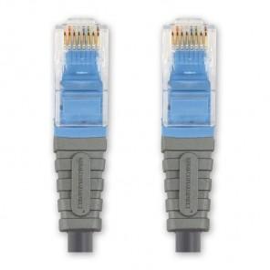 BANDRIDGE BCL 7001 Cat. 5 Netzwerkkabel blau RJ45-Stecker 1,0 m