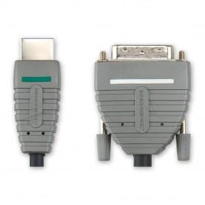BANDRIDGE BVL 1105 (5,00 m) HDMI-A-Stecker auf DVI-D-Stecker in 5,00m Länge
