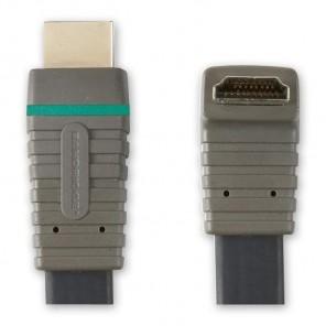 BANDRIDGE BVL 1365 (5,00 m) HDMI-A-Winkelstecker mit 270 Grad Winkel auf HDMI-A-Stecker in 5,00m Länge