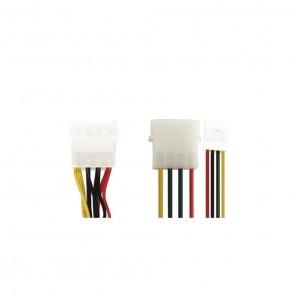 Bandridge CL09200 5,25 Stecker auf 3,5 Kupplung + 5,25 Kupplung 0,15 m vergoldete Kontakte