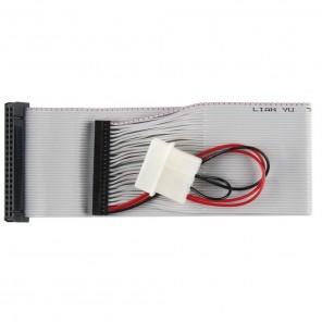 Bandridge CL01201I 40pin Kupplung auf 44pin Micro Kupplung 0,3 m vergoldete Kontakte