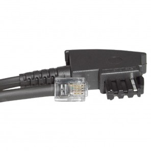 Bandridge TAL 1190 D Telefonkabel 10,0 m TAE-F-Stecker auf RJ11-Stecker internationale Norm