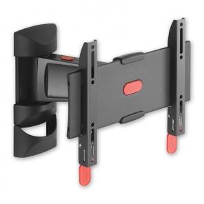 Physix PHW 300S schwarzer Wandhalter für TV-Geräte 19-26 Zoll 90 Grad drehbar