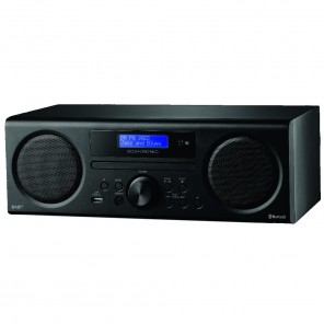 Scansonic DA 310 schwarz DAB+/FM-CD + Bluetooth Radio