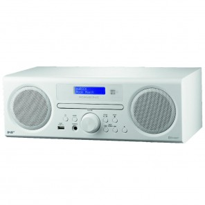 Scansonic DA 310 weiß DAB+/FM-CD + Bluetooth Radio