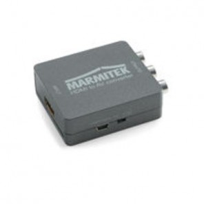 Marmitek Connect HA13 08263 HDMI zu SCART Adapter | HDMI Konverter, RCA-Composite-PAL-NTSC, 1080p