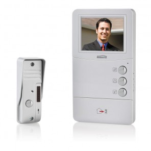 Marmitek DoorGuard 350 LCD Video Türsprechanlage mit 10cm LCD Farb-Display