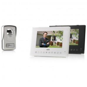 Marmitek DoorGuard 450 LCD Video Türfreisprechanlage mit 120 Grad Weitwinkel-Kamera und Speicherfunktion