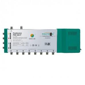 Polytron PSG 508 P Sat Multischalter 8 Teilnehmer | Netzteil, Digital, HDTV, FullHD, 4K, UHD