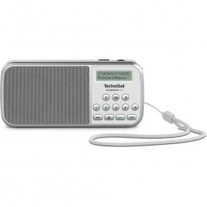 TechniSat TechniRadio RDR weiß 0001/3922 - portables DAB+ und UKW-Radio