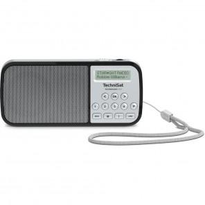 TechniSat TechniRadio RDR silber 0002/3922 - portables DAB+ und UKW-Radio