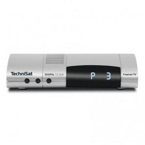 TechniSat DigiPal T2 DVR silber 0001/4932 | DVB-T2 HD Receiver mit PVR-Funktion