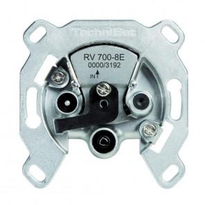 TechniSat  0000/3192 TechniPro RV 700-8E | Einkabel-Enddose/terminiert