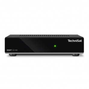TechniSat Digit S3 HD schwarz 0000/4712 | HDTV Sat-Receiver mit Loopthrough