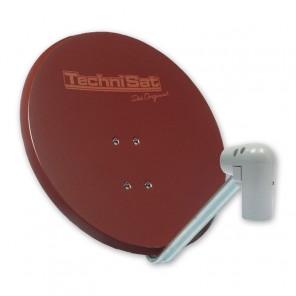 TechniSat  6065/8804 Satman650 Plus | rot, Unysat V/H-LNB