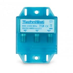 TechniSat TechniSwitch 2/1 0001/3223 DiSEqC-Relais | für zwei Satellitenpositionen, mit Wetterschutzgehäuse