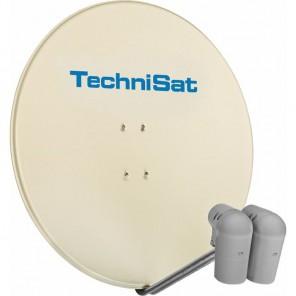 TechniSat  9708/8800 EutelAstraSat | beige, 2x Unysat V/H-LNB, DiSeqC