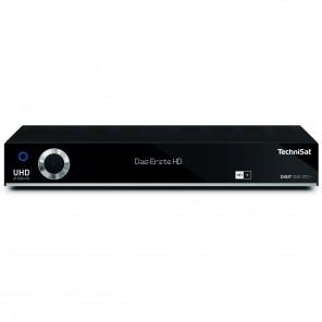 TechniSat Digit ISIO STC+ schwarz 0000/4757 | UHD-/4K-Receiver mit 3x Twin-Tuner und HD+ Karte - B-Ware