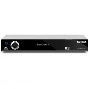 TechniSat Digit ISIO STC+ silber 0001/4757 | UHD-/4K-Receiver mit 3x Twin-Tuner und HD+ Karte