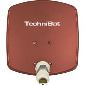 TechniSat DigiDish 33 rot V/H 1433/2194   Sat-Antenne mit Single LNB   B-Ware