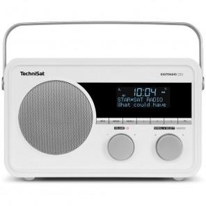 TechniSat DigitRadio 220 | weiß, DAB+/UKW, Klassische Bauform