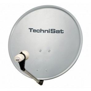 TechniSat DigitalSat 55 grau mit Single LNB 1055/2194