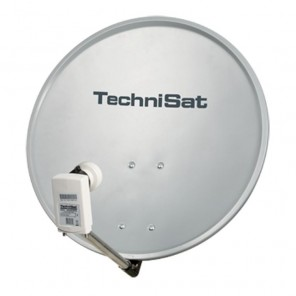 Technisat 1055/2882 DigitalSat 55 | grau, Twin-LNB