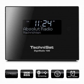 TechniSat DigitRadio 100 | DAB+/UKW-Empfangsteil mit Bluetooth-Audiostreaming