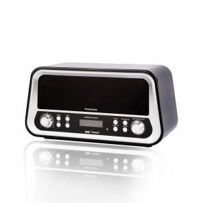 TechniSat DigitRadio Classic schwarz 0000/4967   DAB+/UKW Radio im Retrodesign   B-Ware