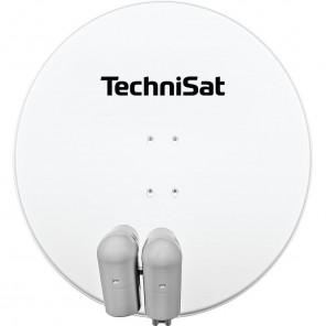 TechniSat  9708/8807 EutelAstraSat | polarweiß, 2x Unysat V/H-LNB, DiSeqC
