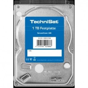 "Technisat 0000/2586 Streamstore100, 1TB, 2,5"", SATAIII, Technicorder STC"