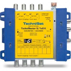 Technisat TechniRouter 5/1x8 K-R, Kaskade