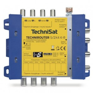 Technisat TechniRouter 5/2x4 K-R, Kaskade