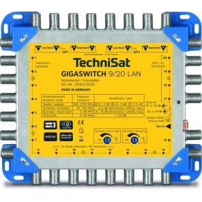 Technisat 0000/3256 GigaSwitch 9/20 LAN