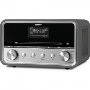 Technisat DigitRadio 580 | anthrazit, DAB+/UKW/Internet, MP3-CD-Player